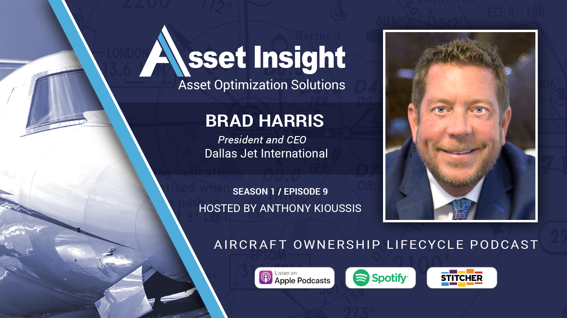 Brad Harris, President & CEO, Dallas Jet International