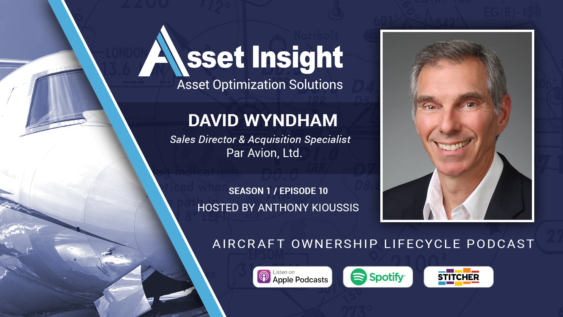 David Wyndham, Par Avion, S1E10