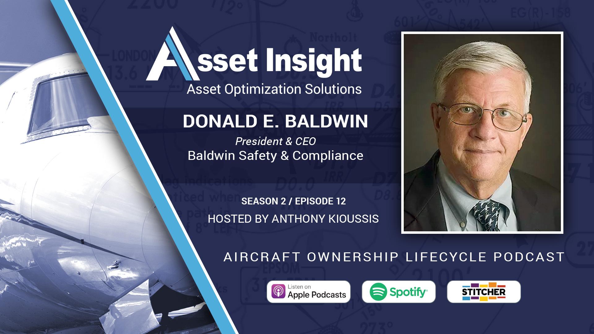 Donald E. Baldwin, President & CEO, Baldwin Safety & Compliance