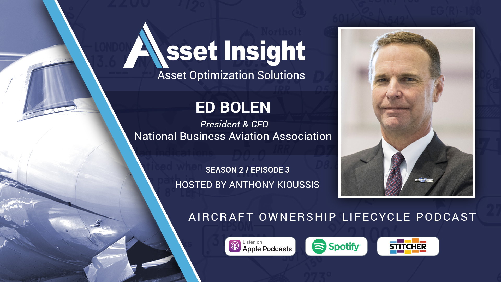 Ed Bolen, The National Business Aviation Association