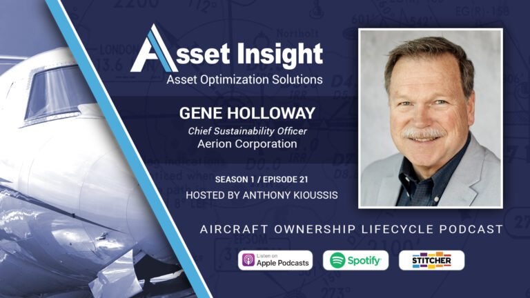 Gene Holloway, Chief Sustainability Officer, Aerion Corporation