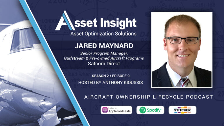 Jared Maynard - Senior Program Manager, Gulfstream & Pre-owned Aircraft Programs, Satcom Direct