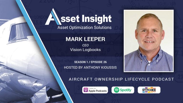 Mark Leeper, CEO, Vision Logbooks