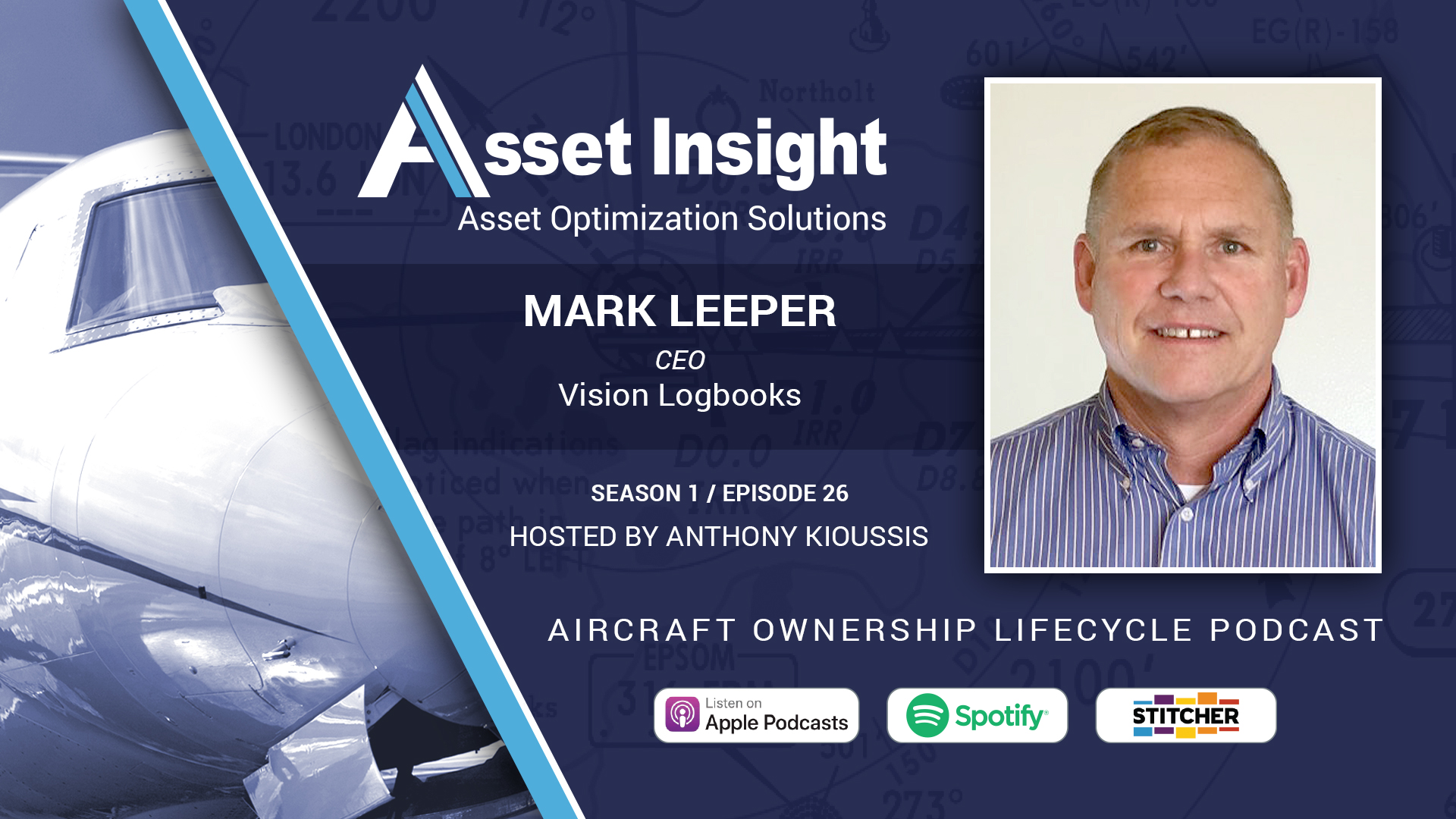 Mark Leeper, CEO, Vision Logbooks