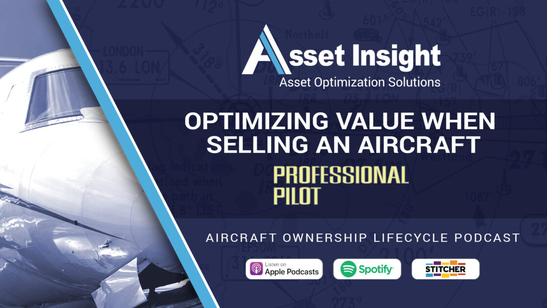 Optimizing Value When Selling An aircraft