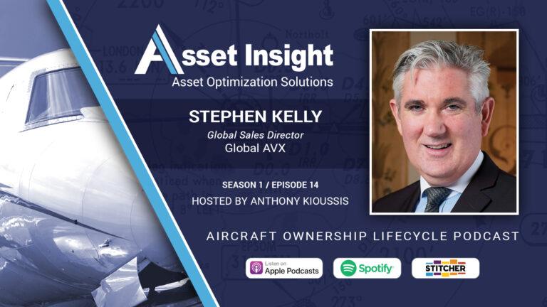 Stephen Kelly, Global Sales Director, Global AVX